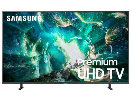 Телевизор Samsung 49 UHD, Smart TV , Звук (20 Вт (2x10 Вт)), 4xHDMI, 2xUSB, 1xRJ-45, PQI 1900, Серый UE49RU8000UXRU