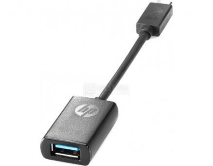 Кабель HP USB Type-C to USB 3.0 Adapter, Черный, P7Z56AA