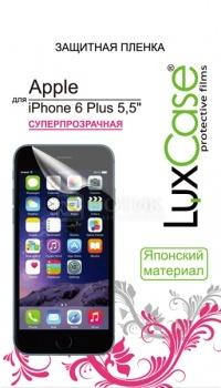 Защитная пленка LuxCase для Apple iPhone 6 Plus/6s Plus, Суперпрозрачная 81202