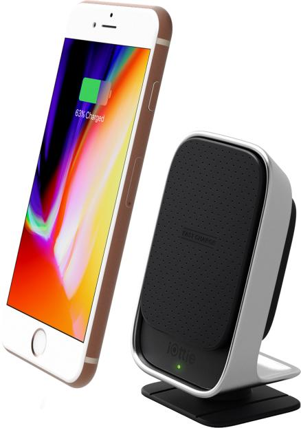 iOttie Car and Desk Holder Wireless Fast Charging Black (HLCRIO133)