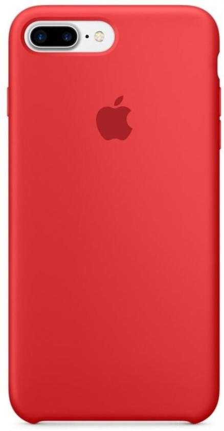 Apple Silicone Case PRODUCT(Red) (MMQV2/MQH12) for iPhone 8 Plus/iPhone 7 Plus