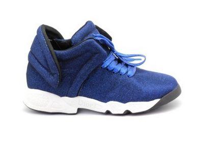 Кроссовки Dior Fusion Sneakers 2016 Blue