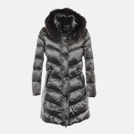 Lond down jacket in matte grey