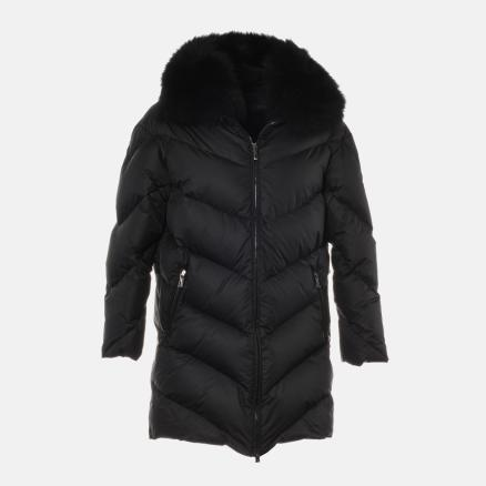 Lond down jacket in matte black