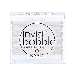 INVISIBOBBLE Резинка для волос invisibobble BASIC Crystal Clear 3 шт.