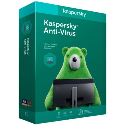 Антивирус 1 Kaspersky (Anti-Virus 2ПК 1 год 2015)