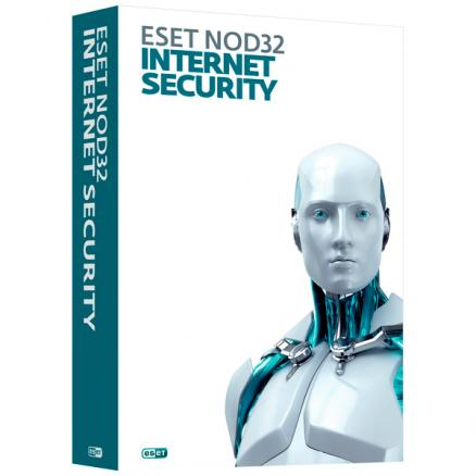 Антивирус ESET (NOD32 IntSecurity на 1 год на 1ПК)