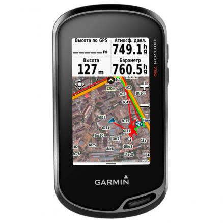 Туристический навигатор Garmin (Oregon 750t)