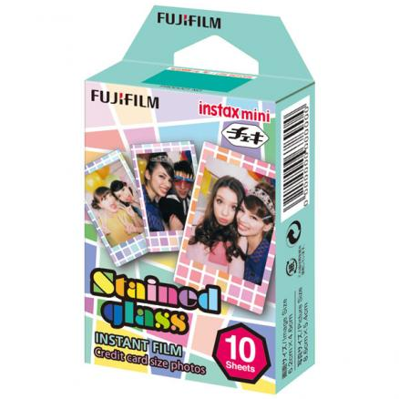 Картридж для фотоаппарата Fujifilm (Instax Mini Stained glass 1 10/PK)