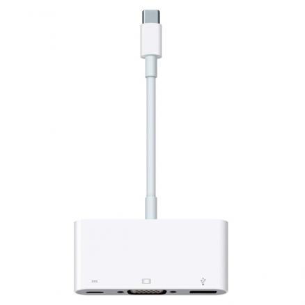 Переходник Apple (Apple USB-C VGA Multiport Adapter (MJ1L2ZM/A))