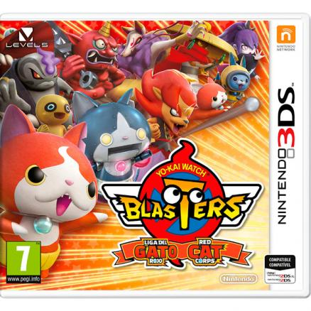 Видеоигра для Nintendo (3DS Nintendo Yo-Kai Blasters Red Cat)