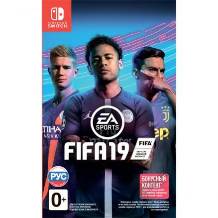 Nintendo Switch игра EA (FIFA 19)