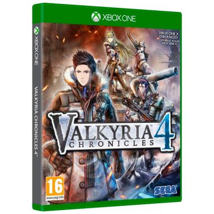Видеоигра для Xbox One . (Valkyria Chronicles 4)
