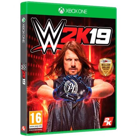 Xbox One игра Take-Two WWE 2K19 Take Two