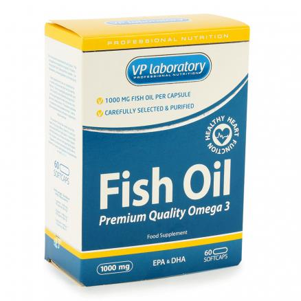 Рыбий жир VpLab Fish Oil 60 капсул