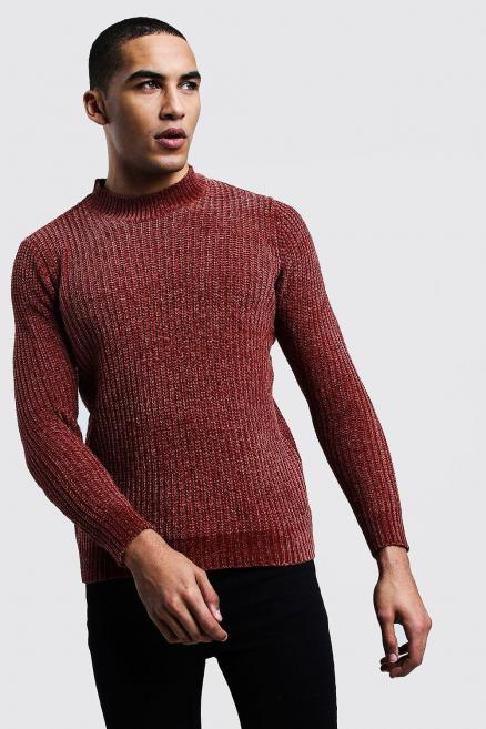 Chenille Turtle Neck Jumper