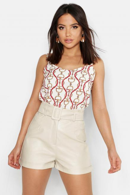 Woven Chain Wave Cami