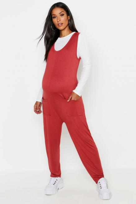 Maternity Jersey Lounge Romper