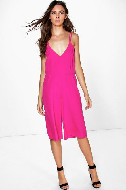 Lexie Strappy Cami Style Culotte Jumpsuit