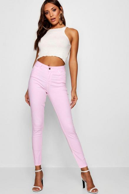 Kimberly Pastel Denim Skinny Jeans
