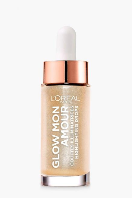 L'Oreal Glow Highlighting Mon Amour Drops- шампанское