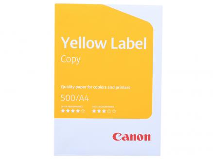 Бумага Canon Yellow Label Copy  A4/80г/м2/500л.
