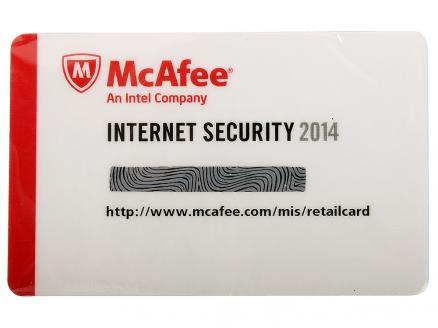 Программное обеспечение McAfee Internet Security OEM 2014 - Card - 1USER (MIS149EC1RAO)