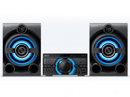 Минисистема Sony MHC-M60D черный/CD/CDRW/DVD/DVDRW/FM/USB/BT