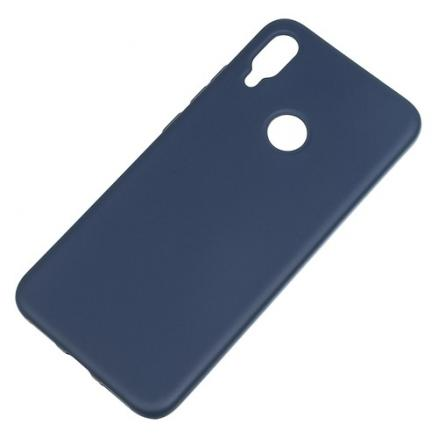 Чехол (клип-кейс) BORASCO Hard Case, для Xiaomi Redmi Note 7, синий [36791]