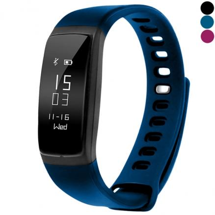 LY 107S Smart Bracelet Blood Pressure Sleep Monitor Sports Tracker (E-523244)