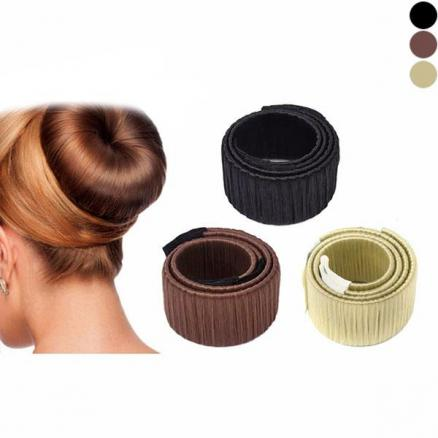 Hair Bun Disk Magic Hair Styling Donut Hair for Women Girls DIY Hairstyle Tools (HHI-533158)