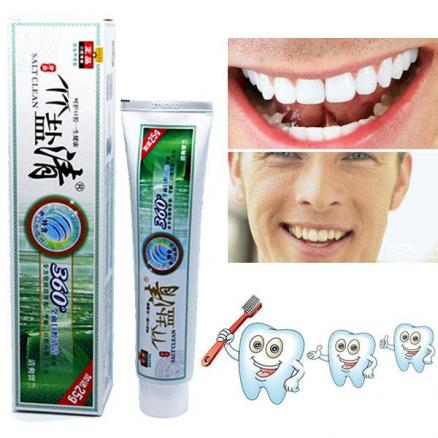 Bamboo Salt Whitening Toothpaste Activated Bamboo Charcoal Mint Toothpaste (HHI-540245)