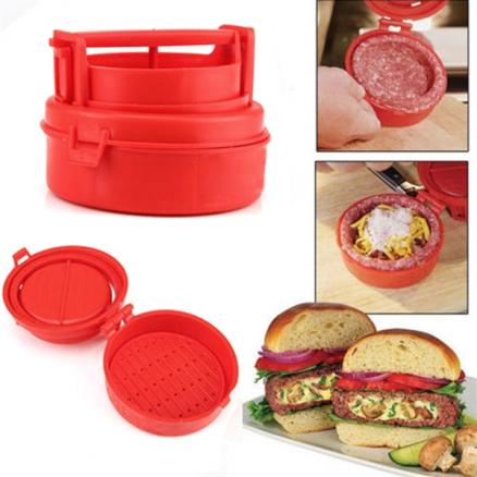 1/2 pcs Stufz Stuffed Burger Hamburger Press Cutlets Maker Meat Pressing Device (HKI-532719)