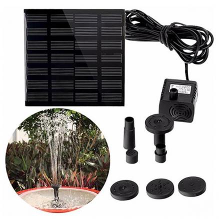 200L/H Solar Water Brushless Pump for Fountain Garden Pool (HHI-547600)