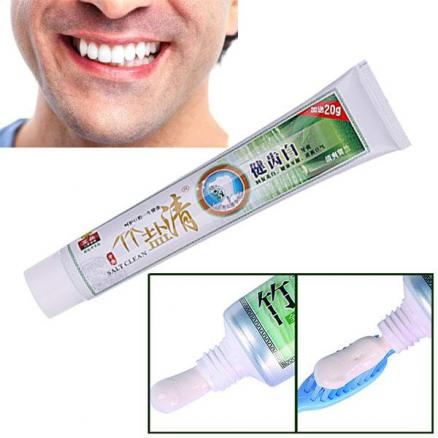 Bamboo Salt Whitening Toothpaste Activated Bamboo Charcoal Mint Toothpaste (HHI-540246)