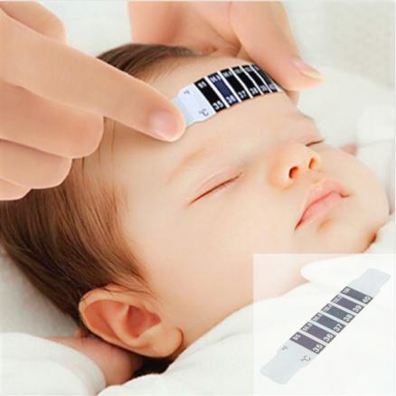 Baby Kids Forehead Strip Thermometer Body Oxter Strip Fever Safety (HHICB-530266)