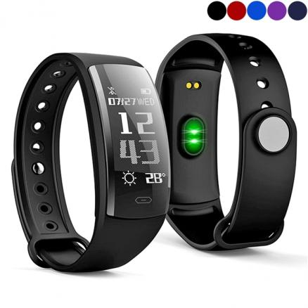 Newest QS90 Smart Blu Bracelet Heart Rate Blood Monitor Sport Tracker Waterproof (EWT-539131)