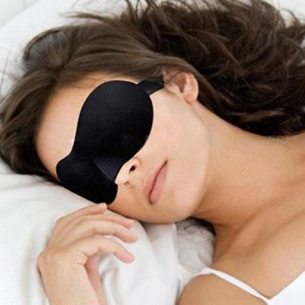 3D Sleeping Eye Mask Sleep Mask Blindfold for Home Office Travel Use (HHI-322220)