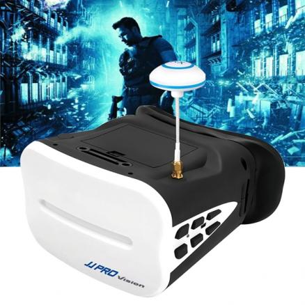 JJPRO-F01 64Hz FPV Video Glasses for 5.8G RC Toys with Camera (E-517747)
