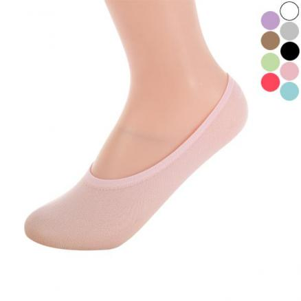 Women Fashion Low-cut Socks Non Slip Socks Invisible Socks No-show Socks (HHI-552942)