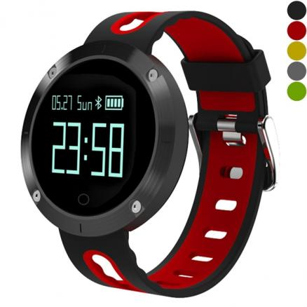 DM58 Sports-Style Smart Watch Blood Pressure Heart Rate 0.95inch OLED (E-529748)