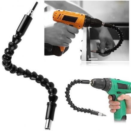 1/2/4 pcs Screwdriver Extension Drill Bits Flexible Drill Holder Shaft Conecting (HHIHE-531989)