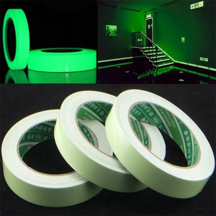 20mm x 3M/Roll Luminous Tape Self-adhesive Glow In The Dark Safety Stage Tape (HHI-540155)