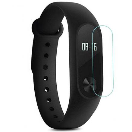 2 x 0.2MM Nano HD 2.5D Explosion-proof Film for Xiaomi Miband 2 (E-517328)