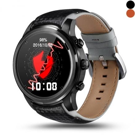 LEMFO LEM5 Android 5.1 Smart Watch Phone 1.39'' Waterproof GPS Tracker 1GB 8GB (E-540102)