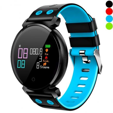 K2 Colorful Screen Heart Rate Smart Bracelet IP68 Waterproof Long Standby Time (E-542111)