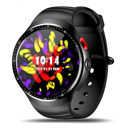 LEMFO LES1 Android 5.1 Smart Watch Phone 1.39'' OLED 400 x 400 Waterproof GPS (E-540257)