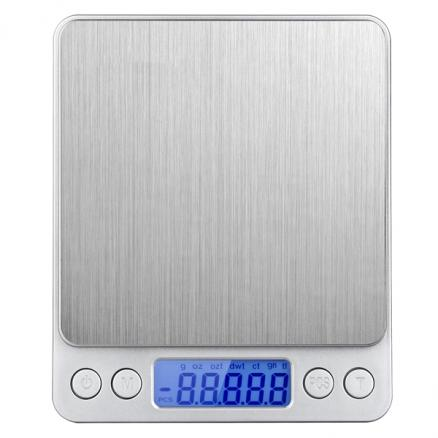 500g/0.01g Mini Precision Scales Digital Kitchen Scale Jewelry Weighing Balance (HKI-541066)