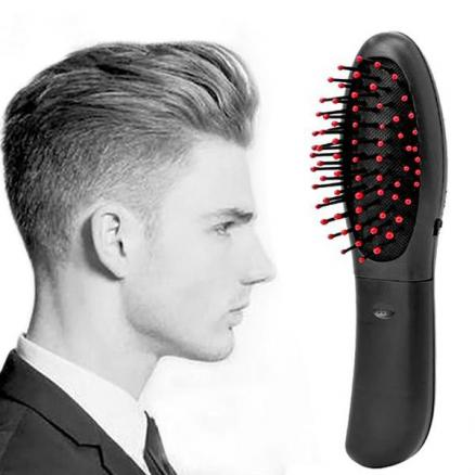 Healthy Electric Massage Comb Vibrating Massage Relaxation Hair Brush Hair Care (HHI-541107)
