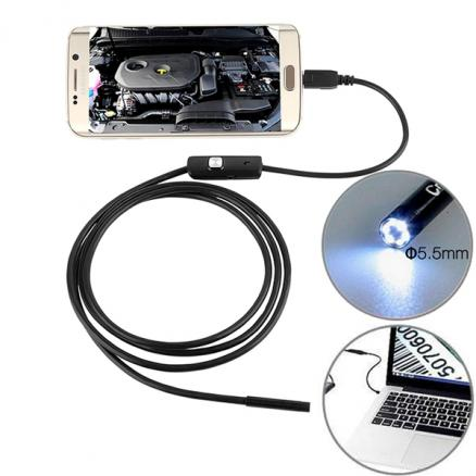 5M 6 LED 7mm Lens IP67 USB Endoscope f Android Smartphone and PC (EPA-507398)